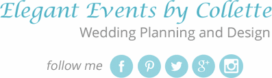 Elegant Events Logo and Social Media Icons