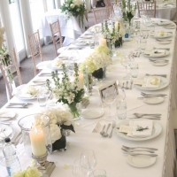 Wedding styling-tables