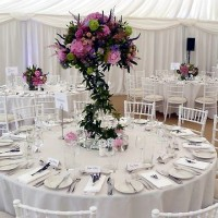Wedding day coordination, Marquee weddings, table design