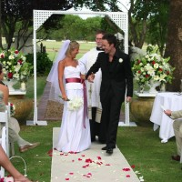overseas wedding, wedding in South Africa