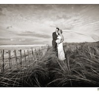 Bride & Groom on the beach